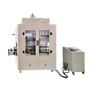 Машина за пуњење корозивних течности линеарног типа