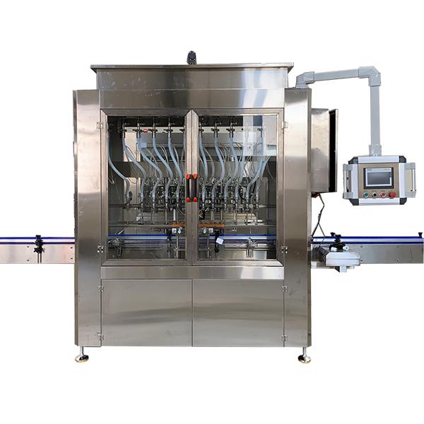 Аутоматска машина за пуњење течности са гравитацијом
