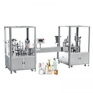 Аутоматска машина за пуњење и затварање парфема