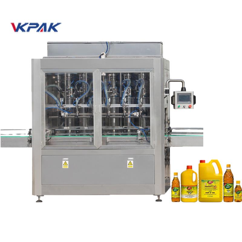 Аутоматска машина за пуњење течности клипног типа