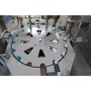 Машина за пуњење и затварање и затварање течних средстава против комараца